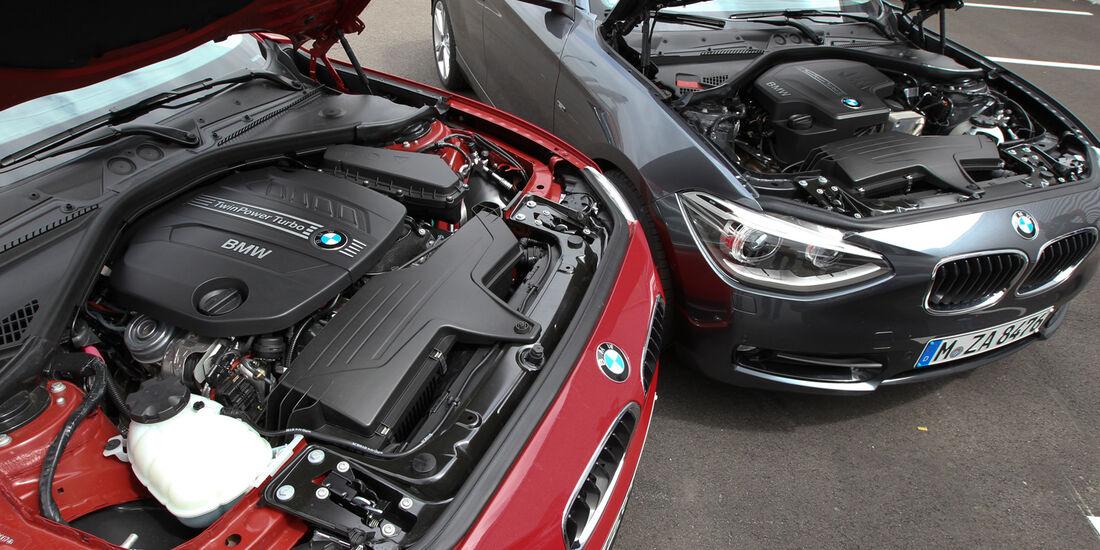 BMW 125i, BMW125d, Motor