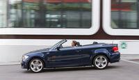 BMW 125i Cabrio, Seitenansicht