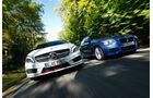 BMW 125i, Mercedes A 250 Sport, Frontansicht