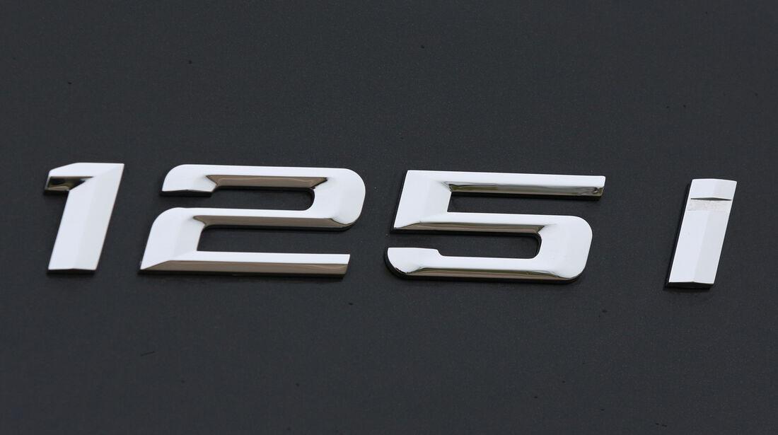 BMW 125i, Typenbezeichnung