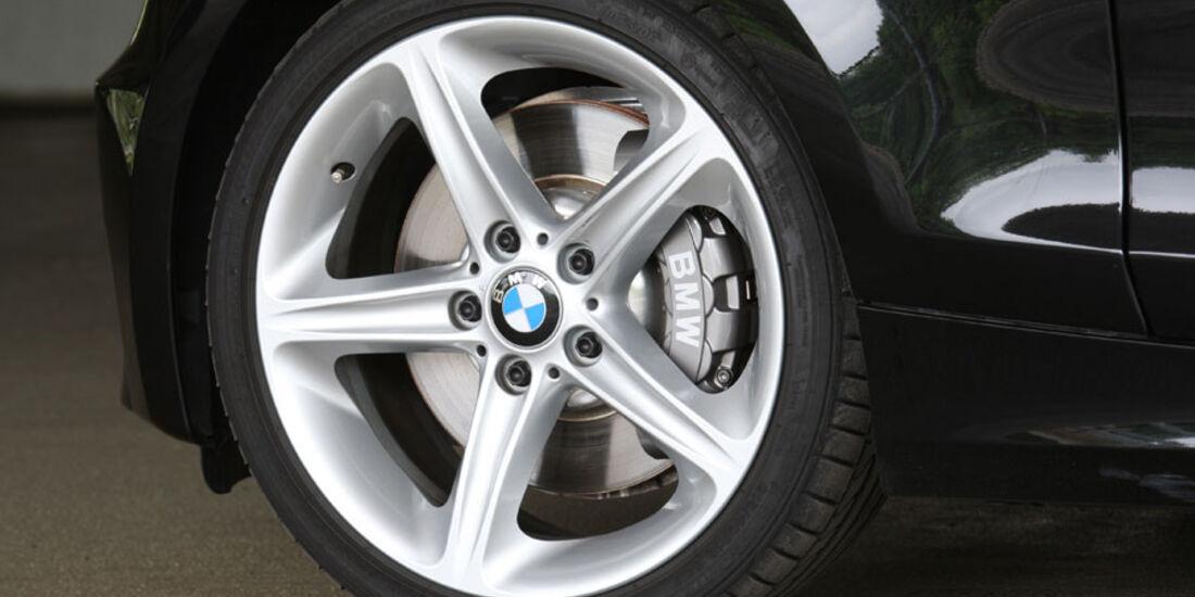 BMW 135i Coupé, Felge, Bremse