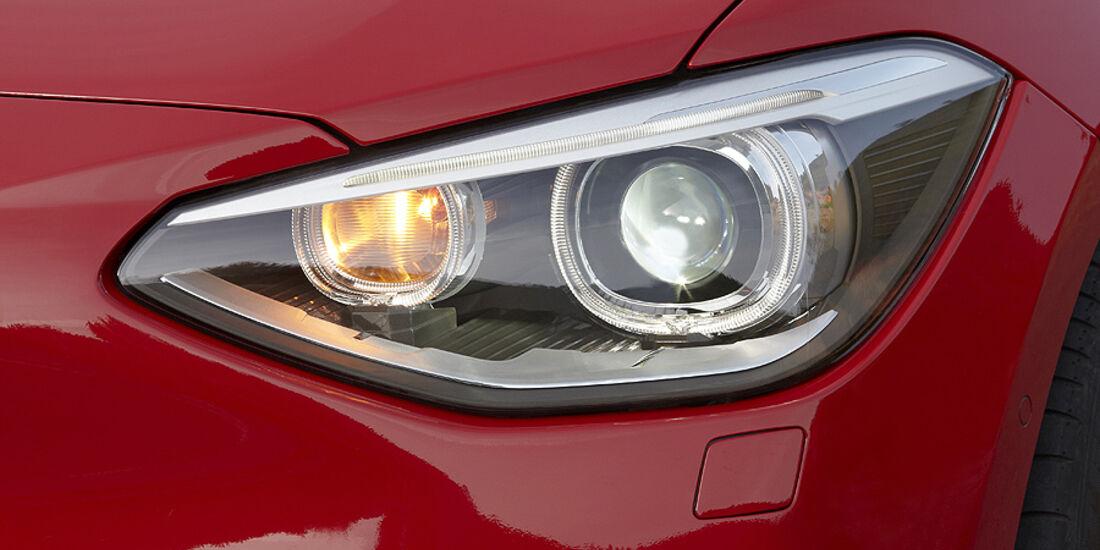 BMW 1er, 2011, Scheinwerfer