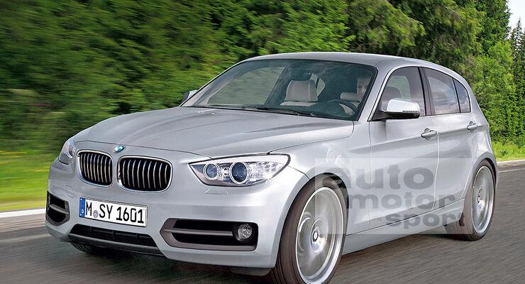 BMW 1er Fünftürer 05/2011