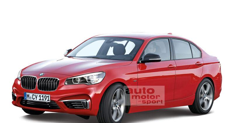 BMW 1er Limousine Stufenheck Sedan