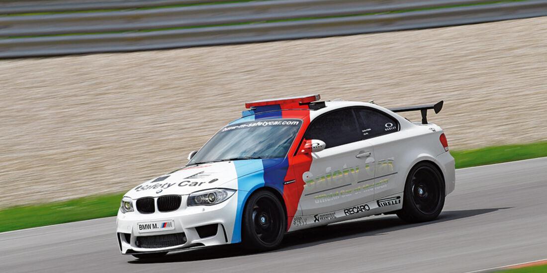 BMW 1er M Coupé, Seitenansicht