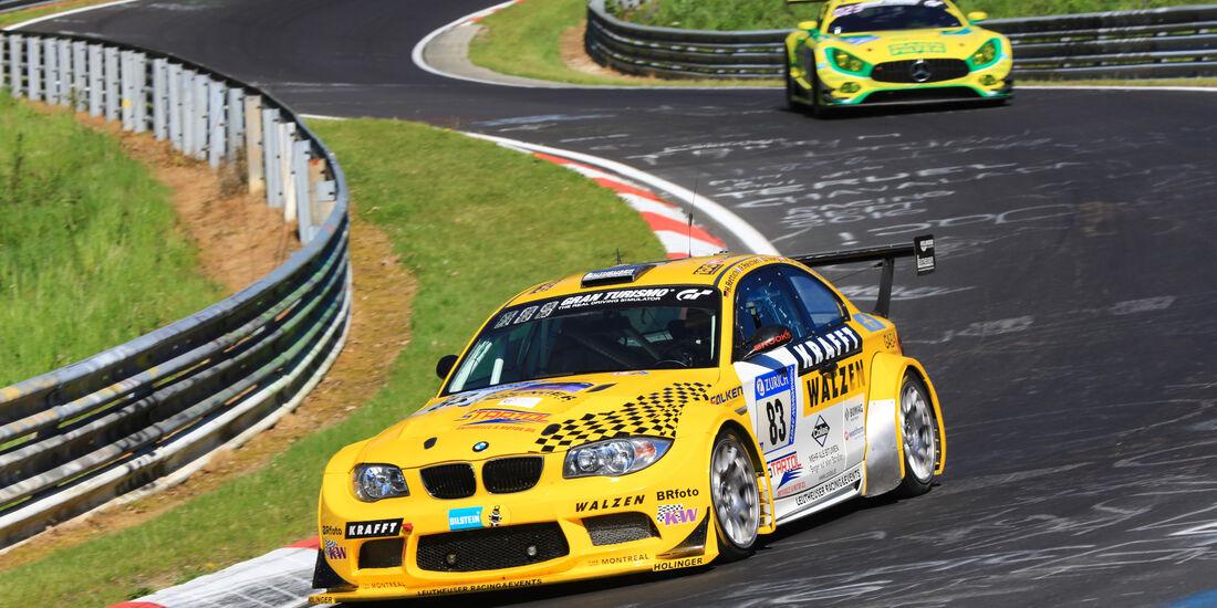 BMW 1er M Coupé - Startnummer #83 - 2. Qualifying - 24h-Rennen Nürburgring 2017 - Nordschleife