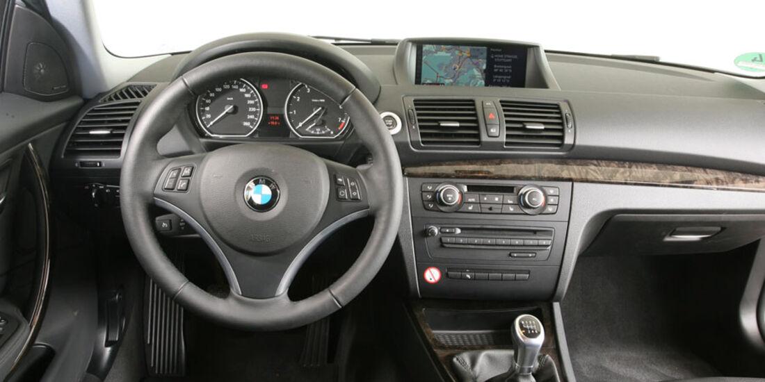 BMW 1er, Standart-Ausstattung