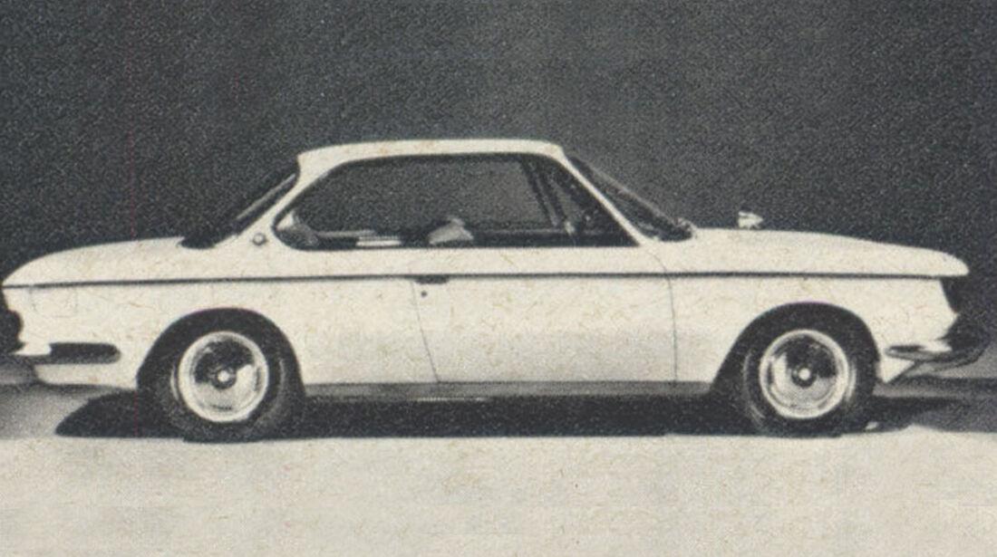 BMW, 200 CS, IAA 1967
