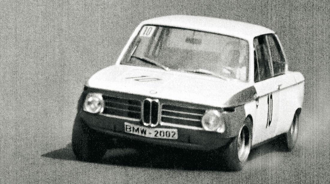 BMW 2002 Rennwagen Baujahr 1966