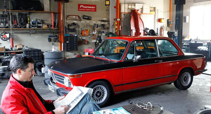BMW 2002 tii Alpina, Garage, Bernd Koberstein