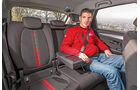BMW 218d Active Tourer, Fondsitz, Beinfreiheit