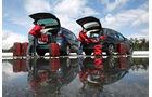BMW 218d Gran Tourer, Opel Zafira Tourer 1.6 CDTI, Heckklappe