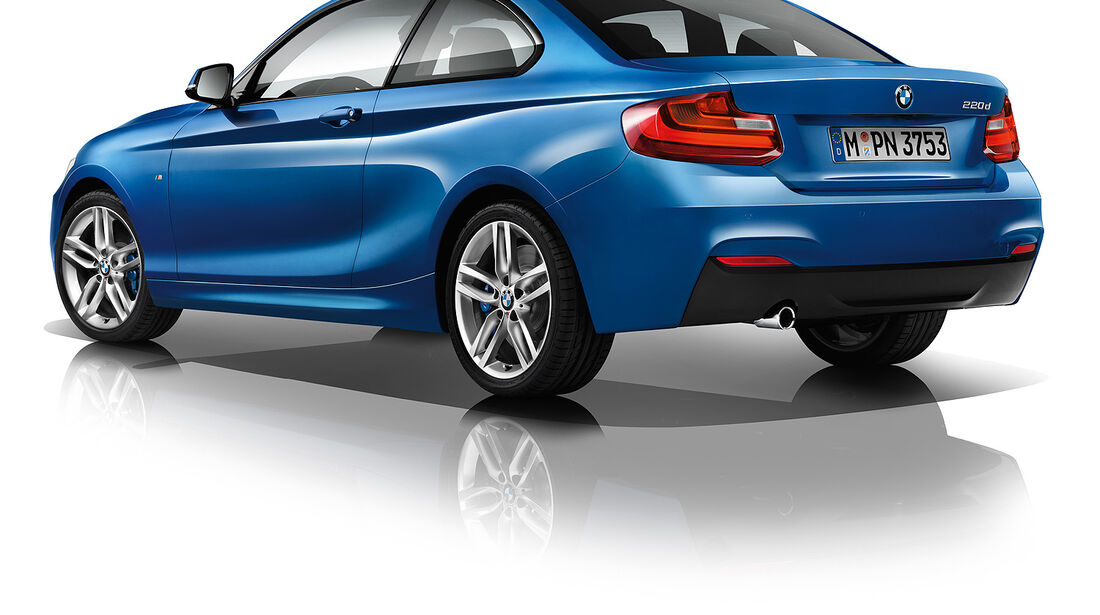 BMW 220d Coupé, M-Performance Kit