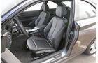 BMW 220d, Fahrersitz