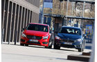 BMW 220i Active Tourer, Mercedes B 250, Frontansicht