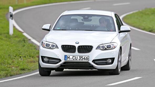 BMW 220i, Frontansicht
