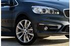 BMW 2er Gran Tourer, Felge, Scheinwerfer