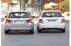 BMW 316d Touring, Mercedes C 180 CDI T Avantgarde, Heck