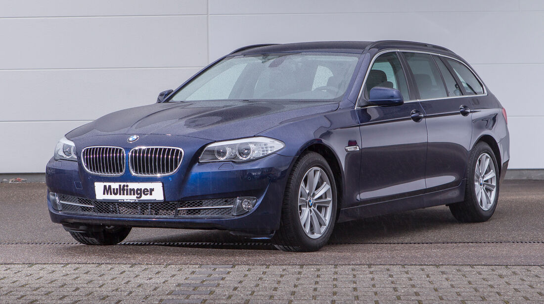 BMW 318d Touring, Frontansicht