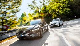 BMW 318d Touring Sport Line, Volvo V60 D3 Momentum