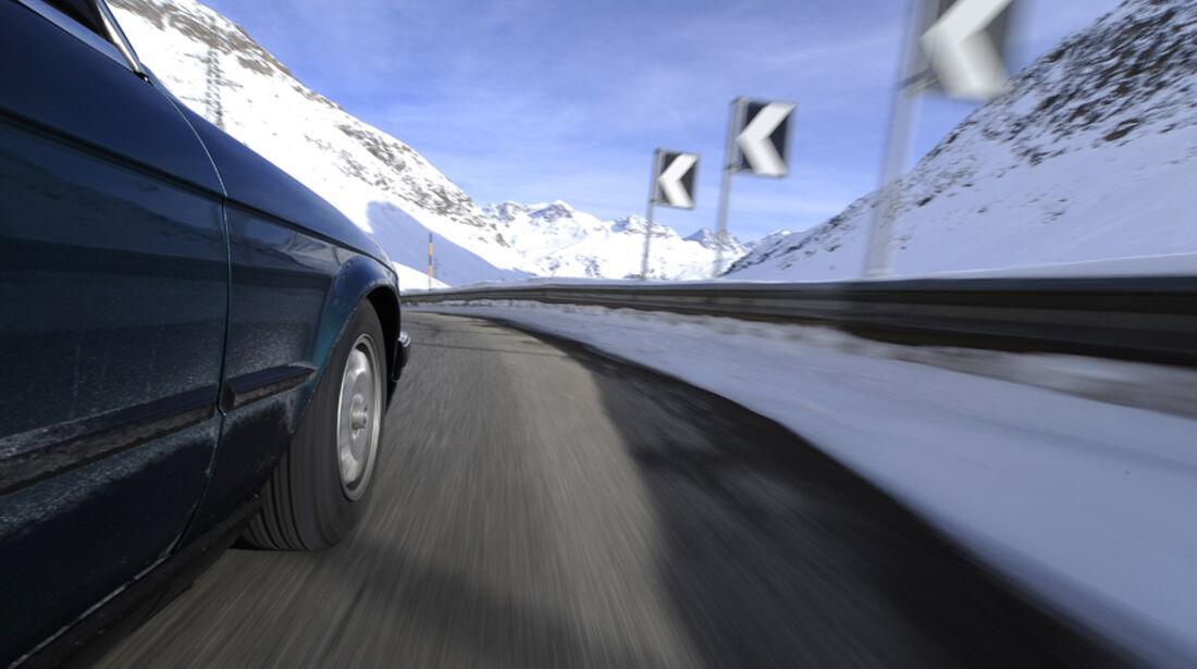 BMW 318i Cabriolet Fahraufnahme