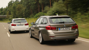 BMW 318i Touring, Heckansicht
