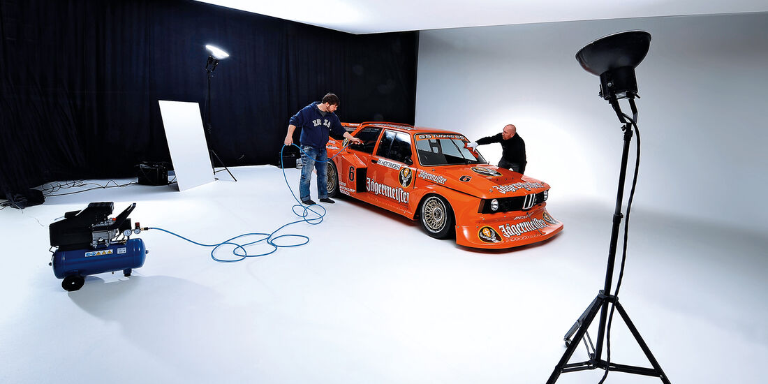 BMW 320 Turbo Gruppe 5, Fotostudio