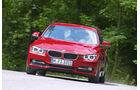 BMW 320d Automatik, Frontansicht