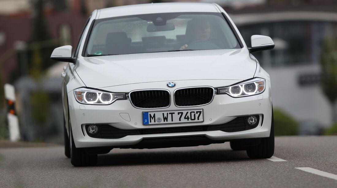 BMW 320d Efficient Dynamics Edition, Frontansicht