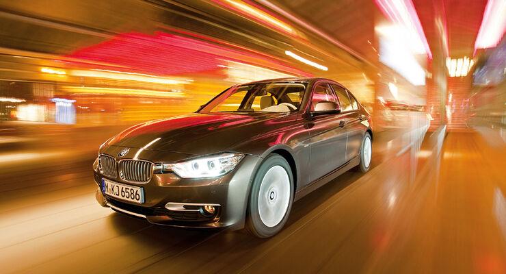 BMW 320d Modern Line, Frontansicht
