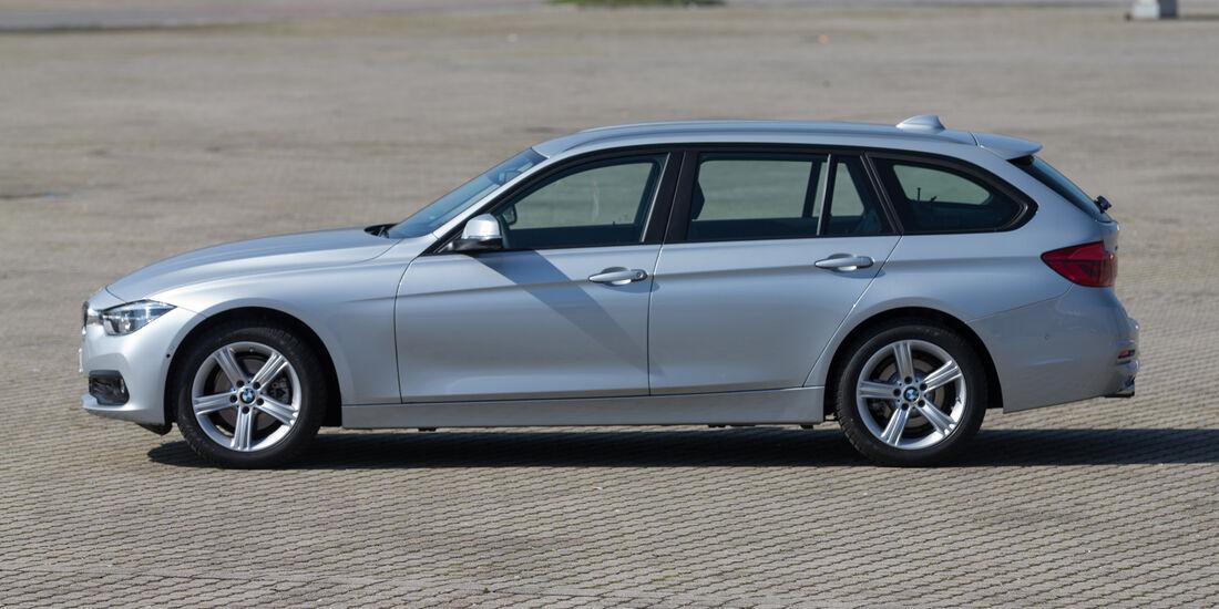 BMW 320d xDrive Touring, Seitenansicht