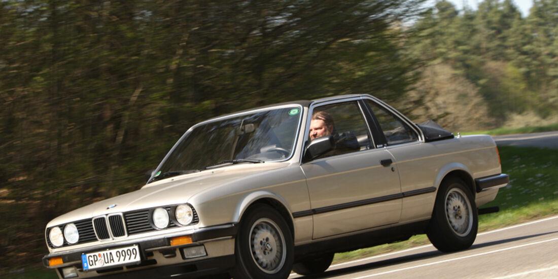 BMW 320i Baur Topcabriolet (TC2), Baujahr 1986