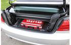 BMW 320i Cabrio, Kofferraum