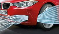 BMW 320i EDE, Frontschürze, Luftvorhang
