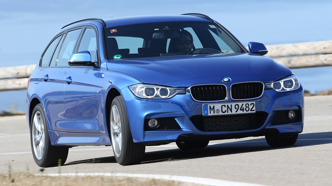 BMW 325d Touring, Frontansicht