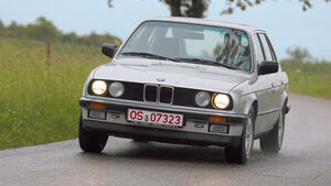 BMW 325e, Frontansicht
