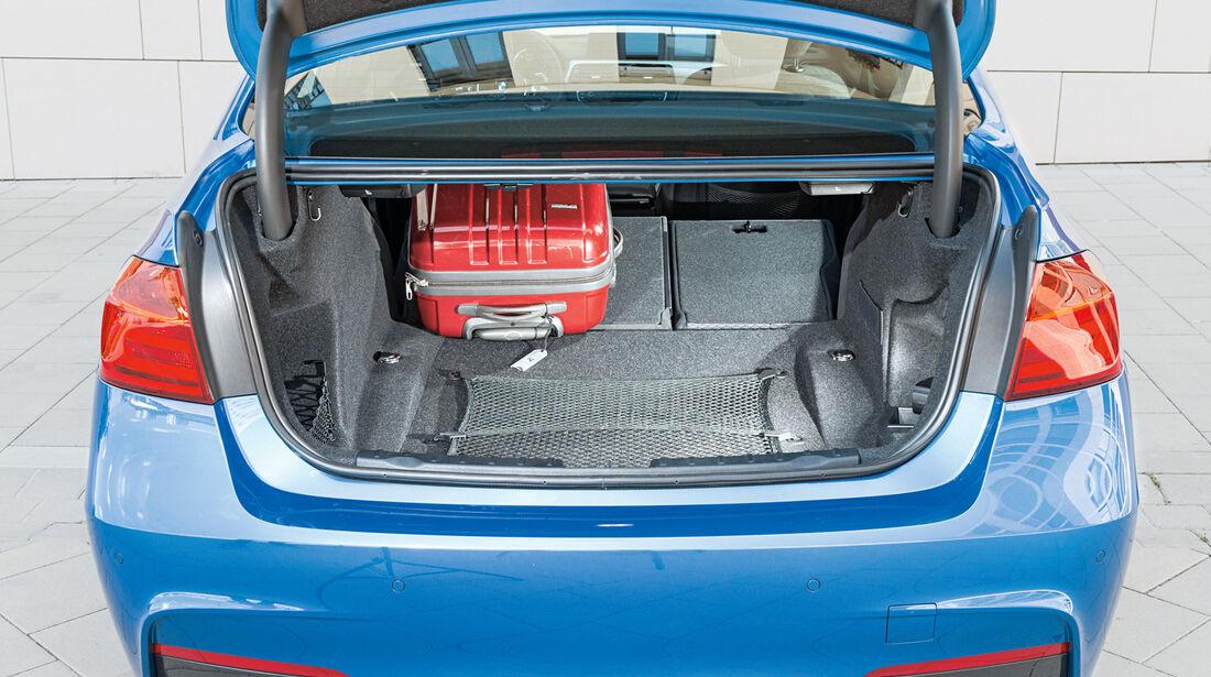 BMW 328i, Kofferraum