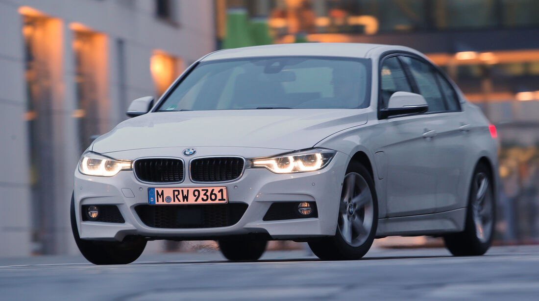 BMW 330e, Frontansicht