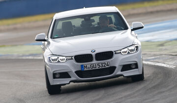 BMW 335d xDrive, Frontansicht