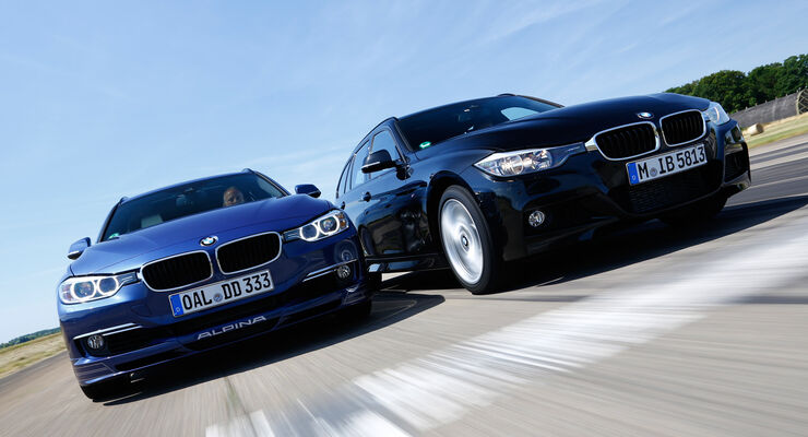 BMW 335d xDrive Touring, Alpina D3 Biturbo Touring Allrad, Frontansicht