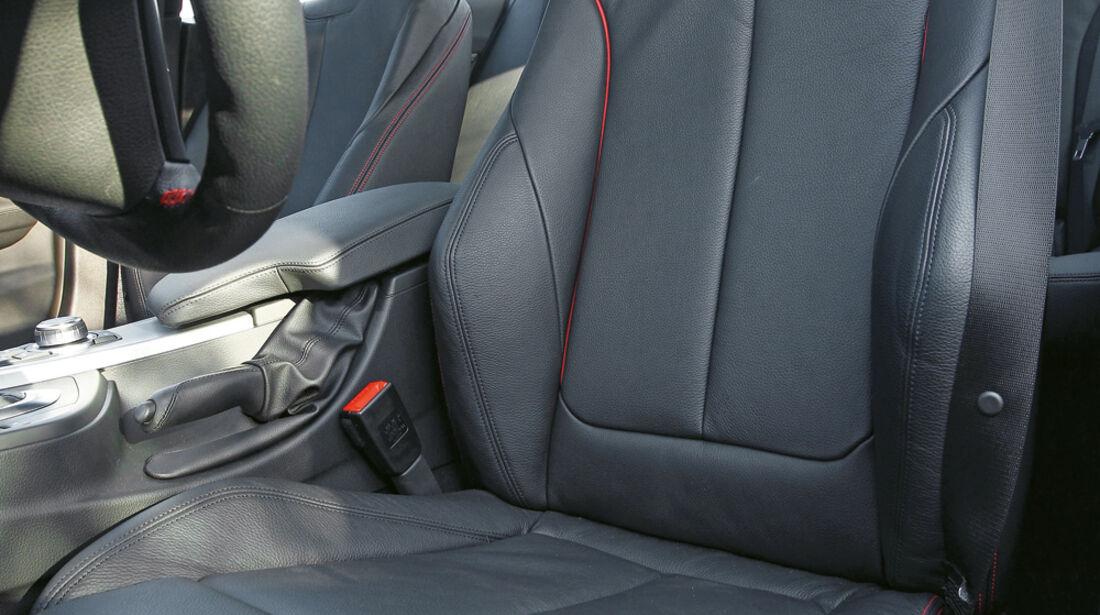 BMW 335i, Fahrersitz