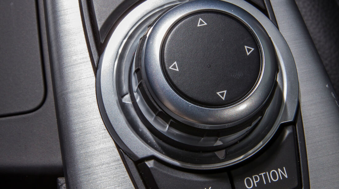 BMW 335i GT, Bedienelement