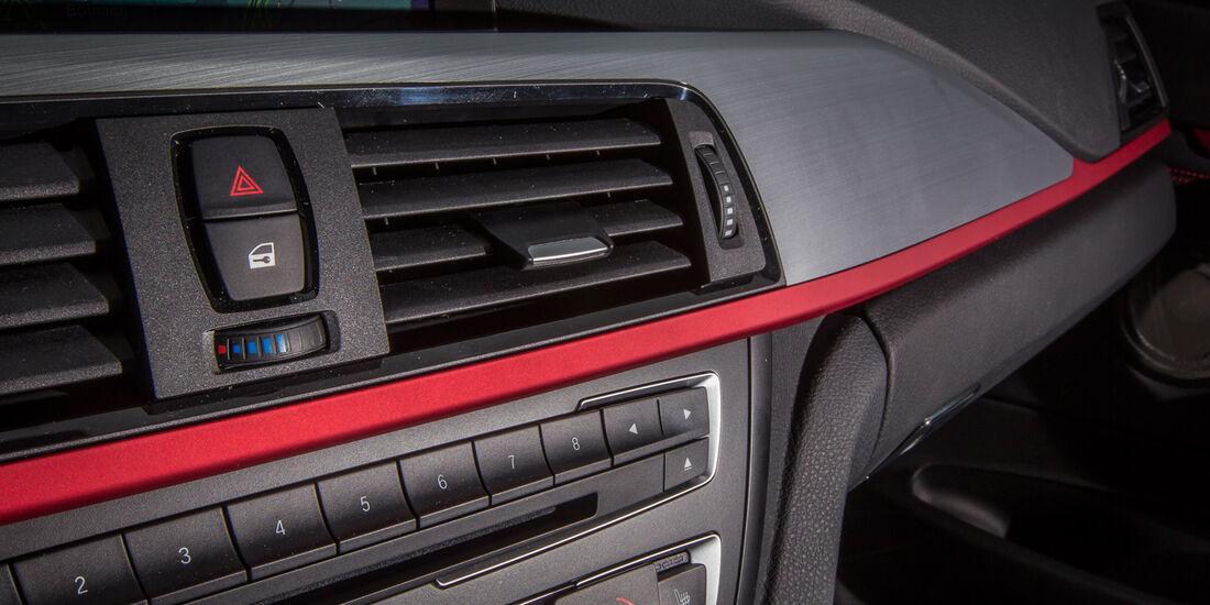 BMW 335i GT, Luftausströmer