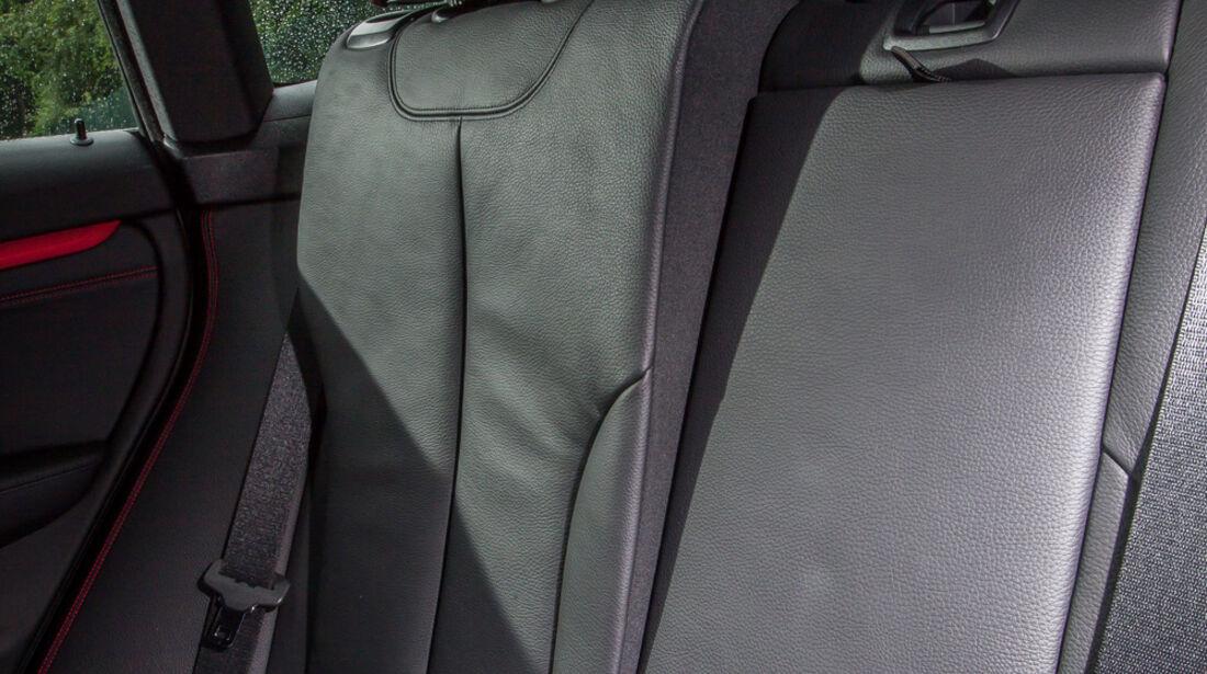 BMW 335i GT, Rücksitz