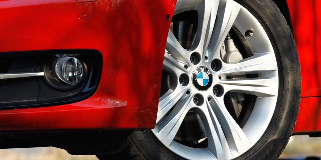 BMW 335i, Rad, Felge