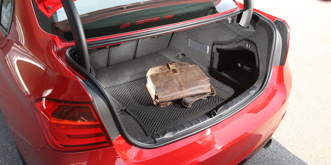 BMW 335i Sport Line, Kofferraum