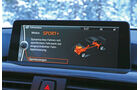 BMW 335i x-Drive, Display, ESP