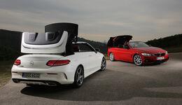 BMW 420i Cabrio, Mercedes C 200 Cabriolet