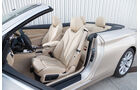 BMW 420i Cabriolet, Sitze