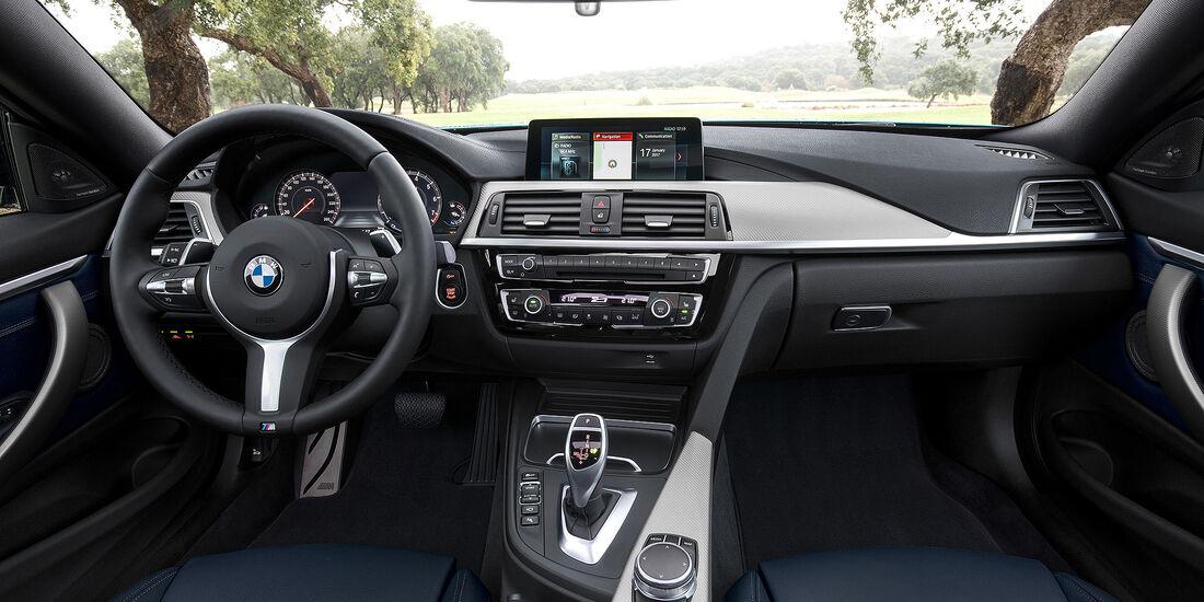 BMW 4er Facelift (2017) M Sport Cockpit
